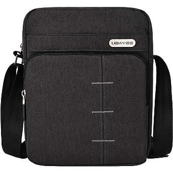 Kindlov-BG Men Laptop Briefcase Bag Mens Handbag Business Documentary Computer Bag for IPAD Shoulder Messenger Bag for School Travel