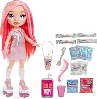 RAINBOW Surprise High 14-inch Doll – Pixie Rose Doll with DIY Slime Fashion | Complete Doll Clothes and Accessories- Fun P...