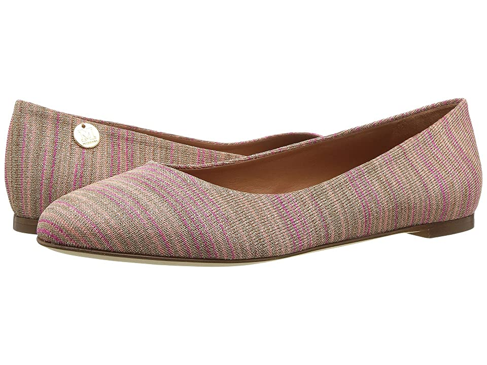 M Missoni Lurex Spacedye Flat (Blush) Women