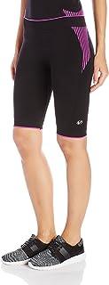 Virtus CORE Biker Compresión Alta para Mujer, color Black/Orchid, L