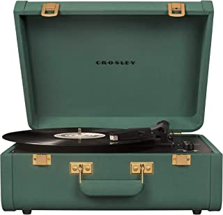 Crosley Portfolio Vintage 2-Speed Bluetooth Suitcase