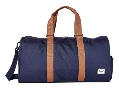 Herschel Supply Co. Novel Mid-Volume (Peacoat/Saddle Brown) Duffel Bags