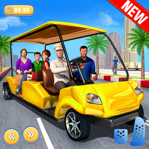 US Smart Taxi Driving Simulator: Ultimate Taxi Car Games 2021