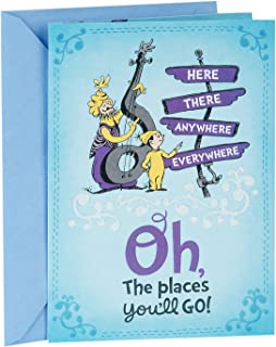 Hallmark Dr. Seuss Graduation Card (Oh, The Places You'll Go)