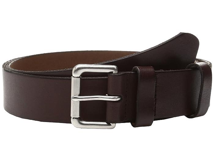 Polo Ralph Lauren Italian Saddle-1 1/2 Roller (Brown) Men