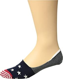 Star Stripe Liner Socks