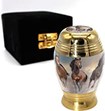 Wild Horses Cremation Urns for Human Ashes Adult for Funeral, Burial, Columbarium or Home, Cremation Urns for Human Ashes ...