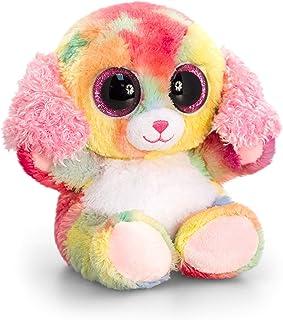 Keel Toys SF0446 15 cm Animotsu Rainbow Dog Plush Toy