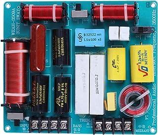 Jaimenalin 1 Stück 350 Watt 3 M?Glichkeiten Frequenzweiche Audio Board Hoch T?ner + Mediant + Bass Frequenz Teiler Für 4 8 Ohm DIY Ktv Bühnen Lautsprecher Filter