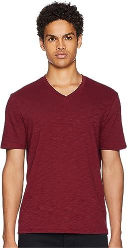 Classic Slub V-Neck T-Shirt