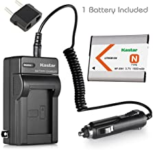 Kastar NP-BN1 Replacement Rechargable Battery, AC/DC Rapid Charger and Car Charger Adapter for Sony Cybershot DSC-TX5, DSC-TX7, DSC-TX9, DSC-W310 DSC-W320, DSC-W350, DSC-W380, DSC-W390 Series Digital Cameras