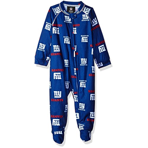 NFL Unisex-Baby Newborn   Infant Raglan Zip Up Coverall 964fef391