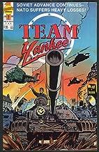 TEAM YANKEE #2 First comic book 1 1989