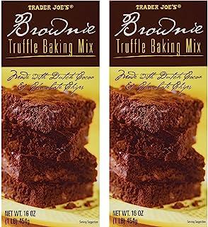 Trader Joe's Brownie Truffle Baking Mix (2 Pack)