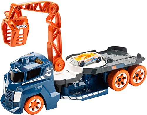 Hot Wheels Lights and Sounds Vehicle, Spinnin' Sound Crane by Hot Wheels