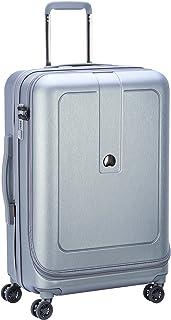 Delsey Paris Grenelle 70 cm 4 Double Wheels Expandable Trolley Suitcase (Hardside), Platinum (00203982011)