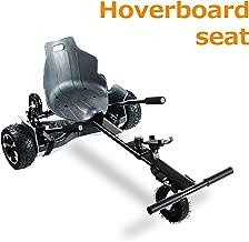 AUBESTKER Hoverboard Go Kart - Compatible with All UL 2272 Hover Board - Fits for Kids Adults - Adjustable Size Kart - Shock Absorber and Phone Holder