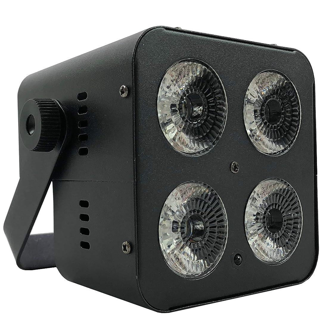 発行野生プレゼンテーションJEUME ステージライト PARライト 4in1 RGBW 10W×4灯 LEDモデル 日本語操作パネル JL-PAR44S
