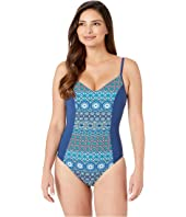 Beach Please Over the Shoulder Mio w/ Floating Underwire