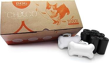 720SACCHETTI BPS PET SHOP Sacchetti Cane,Sacchetti IGIENICI,Sacchetti per bisogni dei Cani con Dispenser e Clip per guinzaglio Colore Nero