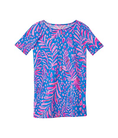 Lilly Pulitzer Kids Mini Marlowe Dress (Toddler/Little Kids/Big Kids) (Pundy Blue La Zebra) Girl