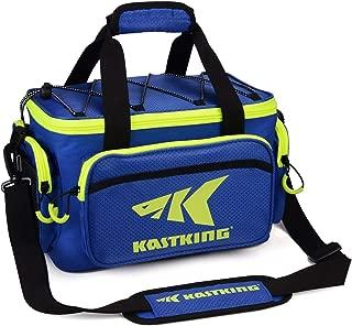 KastKing Fishing Tackle Bags - Fishing Bags for Saltwater or Freshwater Fishing - Rip-Stop PE - Padded Shoulder Strap - Plier Storage