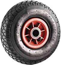 250kg 36psi Pneu gonflable R/ésistant /à lusure Pneu de roue 6in Niveau industriel Pneu de chariot
