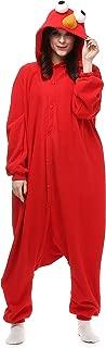 VU ROUL Halloween Costume Red Bird Onesie Pajamas Soft Plush Pyjamas
