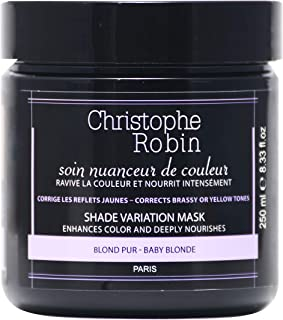 Christophe Robin Shade Variation Nutritive Mask with Temporary Coloring (Baby Blond) - 250 ml