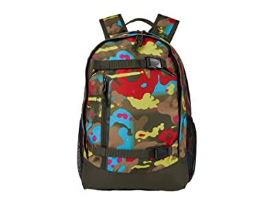 Burton Kids Day Hiker 20L Backpack (Little Kids/Big Kids) (Bright Birch Camo Print) Backpack Bags