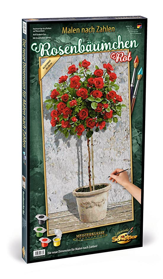Schipper 609220776 Rose Tree Painting by Number