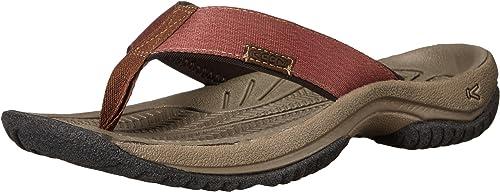KEEN Hommes's Hommes's KONA FLIP Sandal, Dark Earth Tortoise Shell, 13 M US  haute qualité authentique