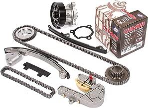 Evergreen TK3032WP Fits Nissan QR25DE Timing Chain Kit, and GMB Water Pump