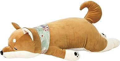 りぶはあと 抱き枕 プレミアムねむねむアニマルズクール 柴犬の柴犬のコタロウ Lサイズ W73xD32xH18cm 58016-44