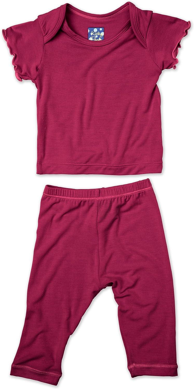 Kic Kee Pants unisex-baby Kickee Pants Short Sleeved Pajama Set