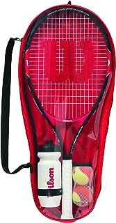 Wilson WRT214000 - Set de iniciación para niños (talla 25, 9-12 años), color rojo y negro