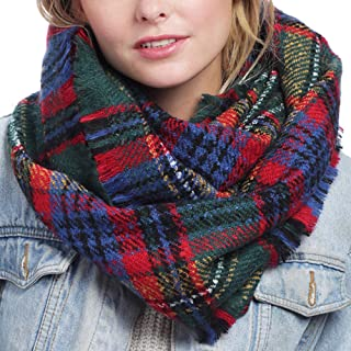 Best girls plaid infinity scarf Reviews