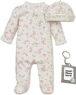 Little Me Mini Heart Layette Set, Pink, Newborn