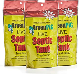 GreenPig Solutions 54A Septic Tank Treatment, 3-Year Supply