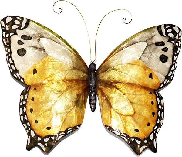 Butterfly Wall Decor Monarch In Orange And Black