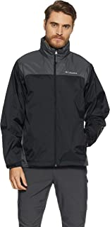 Columbia Men's Glennaker Lake Front-Zip Rain Jacket with...