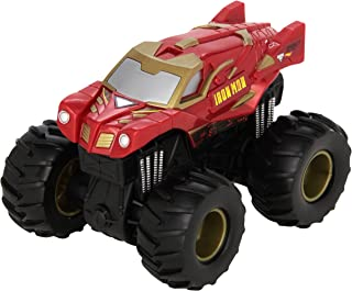 Hot Wheels Monster Jam Rev Tredz Iron Man Vehicle