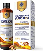 MOUNTAINOR MOROCCAN ARGAN HAIR GROWTH OIL 200ML, MULTIPURPOSE MAGICAL OIL/SERUM WITH PURE 14 ESSENTIAL OILS LIKE ARGAN, LAVENDER, TEA TREE, ROSEMARRY, BHRINGRAJ, ALOE VERA FOR COMPLETE HAIR TREATMENT