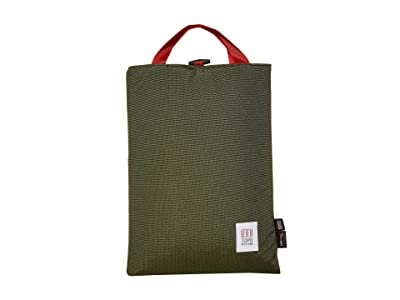Topo Designs Laptop Sleeve (Olive) Bags