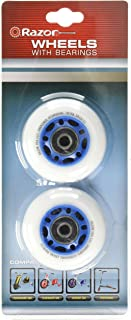 Razor PowerWing RipRider 360 Replacement Rear Wheels, Blue