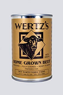 Wertz's 14.5oz Home Grown Premium Canned Beef 8 Pack