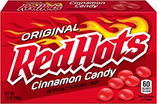 Red Hots Cinnamon Candy, 5.5 Ounce Box, Pack of 12