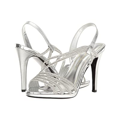 Caparros Gazelle (Silver Metallic) High Heels