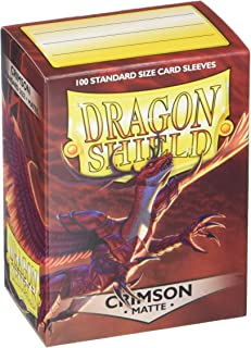 Funda Dragon Shield Crimson (100)