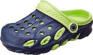 FLIPSIDE Unisex Kid's Hulk Green Clog Flip-Flops